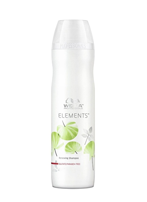 Wella Paranbensiz Şampuan Elements 250 Ml Renksiz
